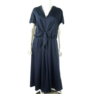 Gal Meets Glam Margie Tie Waist Dress Size 20